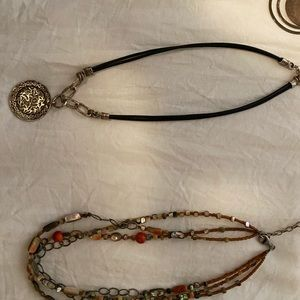 Silpada Jewelry - Lot of Silpada & Sterling Silver necklaces.
